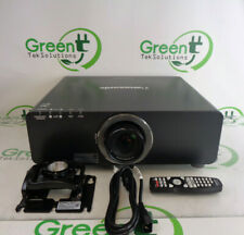 Panasonic PT-DZ6700U Dual Lamp Projector w/ ET-DLE150 Short-Throw Lens 2886 Hrs