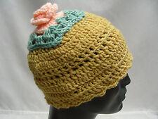 Multicolore - Tricoté à la main - Acrylique - Taille Unique - Bas casquette