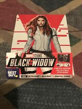 Black Widow Steelbook (4K Ultra Hd + Blu-ray) No Digital - 2021