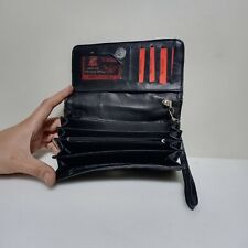 Genuine Leather Wallet Women Ladies Purse Clutch Accordion RFID Blocking