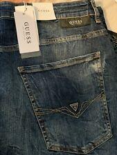 Guess Para hombres facilidad Jeans Rectos 36/30 RRP89.90 € Nuevo con etiquetas