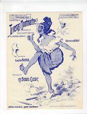 LUCIEN BOYER LYRICS Sheet Music 1922/1958 Tu Verras Montmartre