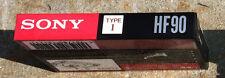 SONY HF 90 TYPE I - Cassette Audio  - NUOVA SIGILLATA