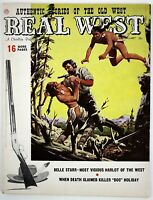 February 1959 REAL WEST Mens Magazine, Belle Starr, Doc Holiday, Indian Fights