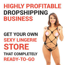 Lingerie Store -  Start Your Own Dropshipping Business Today!