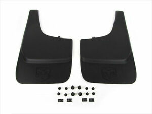 Dodge Ram Nitro Dakota Durango Splash Guards Mud Flaps FLAT Genuine MOPAR OE NEW