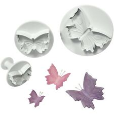 PME Butterfly Plunger Cutters, Small, Medium, Large Sizes, Set of 3