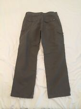 The North Face Mens Outdoor Camping Hiking Proof Brown Pants sz 36