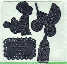 BABY THEME SET OF STEEL CUTTING DIES  for SCRAPBOOKING, EMBOSSING CARD MAKING