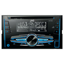 JVC 2-din cd/mp3/usb autoradio/radio-set para Smart Fortwo 451 a partir de 10/2010