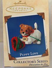 Hallmark Puppy Love 12th in Series 2002 Jack Russell Terrier New