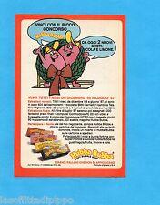 TOP987-PUBBLICITA'/ADVERTISING-1987- HUBBA BUBBA - SOFT BUBBLE GUM