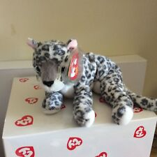 Ty Beanie Baby SUNDAR the Snow Leopard Ty Store Exclusive MWMT