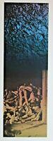 Signed Original ROBERT MORRIS Post War Contemporary Silkscreen ICA Philadelphia
