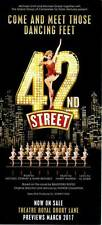Musical Flyer: 42nd STREET - LONDON