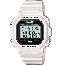 Casio Unisex F108whc-7bcf Digital Water Resistant Watch White