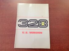 Ferrari 328 GTB/328 GTS Owner's Manual 1986/87 Models