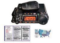 Yaesu FT-857D HF/VHF/UHF 100W Mobile Transceiver with Nifty! Mini-Manual Bundle!