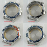 Watch Tool 41mm Watch Case Ceremic Bezel Fit for MIYOTA Automatic Movement