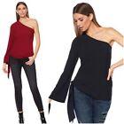 G by Giuliana Women's Asymmetric One-Shoulder Top #576762