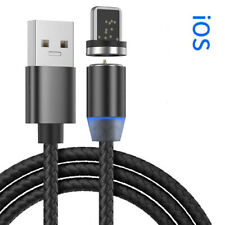 Braided iPhone 6,7,8,XS,XR Fast Charging Data SYNC Charger Cable Cord. Magnetic