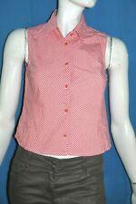 EDEN PARK For Her  Taille 1 - 36  Superbe chemise sans manches carreaux rouges