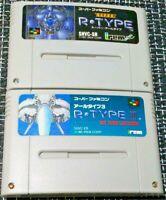 R TYPE 3 III &Super R TYPE Nintendo Super Famicom used FREE Shipping