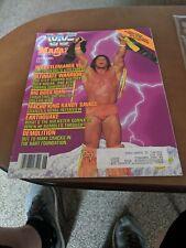 WWF JUNE 1990 ULTIMATE WARRIOR MAGAZINE