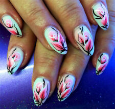 Blumen NailArt Sticker Nagelsticker Nageldesign Tattoo 00079 - 20 Stück