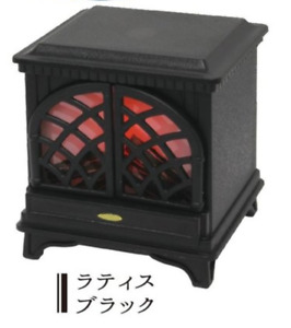 J Dream Gashapon Mini Fireplace LED  - No.3 Black