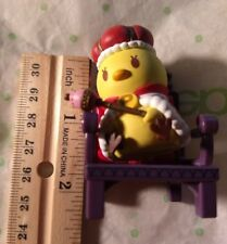 Japanese Anime Figure Royal Baby Chick with Throne Unknown Series