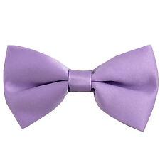 c5589197a619 ... TieColor: PurpleBrand: Vesuvio Napoli. New KID'S BOY'S 100% Polyester  Pre-tied Bow tie only lavender formal wedding
