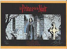 SWOLFS - LE PRINCE DE LA NUIT (brü) (SERIGRAPHIE N°/Signé) NEUF