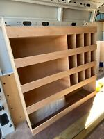 VW Crafter Van Shelving Racking LWB L3 Plywood System Tool Storage