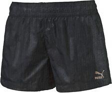 Puma Women's Running Shorts Evo Embossed Sports Shorts - Black - New