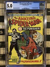 """Amazing Spiderman #129 """"THE PUNISHER!"""" 5.0 Affordable and VERY VERY HOT!"""