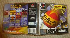 Ps1 Playstation Sony Kula World Verpackt UK Pal Version Komplett