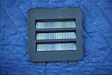 Interior Halo Rear Courtesy Light Lens Black OEM 1986 C4 Corvette RH Passenger