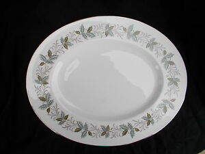 Tuscan.  RONDELEY Oval Meat Dish. Diameter 13 1/4 inches
