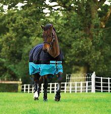 Horseware Mio Weidedecke Regendecke Übergangsdecke Lite schwarz  115-160