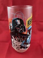 Star Wars Empire Strikes Back Burger King Drinking Glass Darth Vader & Boba