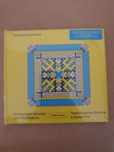 The wedding present- THE COMPLETE UKRAINIAN JOHN PEEL SESSIONS- new & sealed  cd
