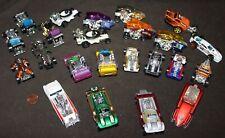 Hot Wheels/Matchbox Loose Diecast Lot: 23 WACKY RACER Hot Rod Cars