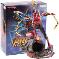 Marvel Avengers Infinity War Iron Spider-Man Artfx PVC Figure Model Toy