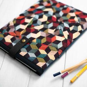 Unique Patchwork Design Padded Case Cover Pouch New iPad Pro Air Mini 2021 M1