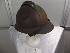 9)Frankreich militaire francais Adrian-Helm WW II casque regis ultima Artillerie