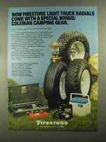 1982 Firestone ATX, Steeltex, Town & Country Tires Ad