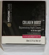 Arganicare Collagen Boost advanced skincare Nachtcreme NP199€ NEU OVP x
