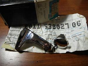 NOS GM 20054227 LH Rear Door Vent Window Handle Caprice Impala Bonneville