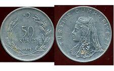 TURQUIE  50 kurus 1975  ( bis )